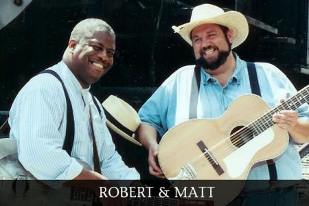 "Robert Jones and Matt  will perform ""Common Chords"" at 7 p.m. Friday at the Arrowhead Center for the Arts."