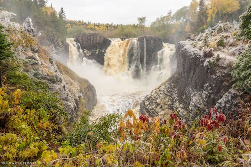 High Falls in the fall by Travis Novitsky.