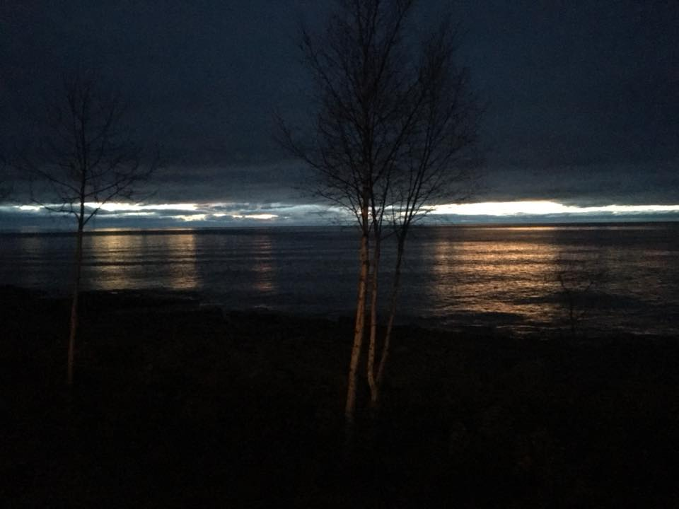 First Light, Tofte by Wendy Olson Holdman.