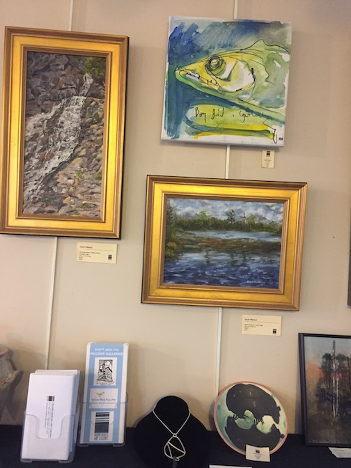 The Grand Marais Art Colony Gallery Store features work by members artists.