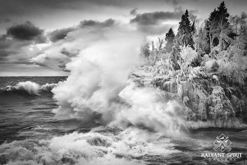 Winds, Waves, Winter ... Wow by Dawn LaPointe.