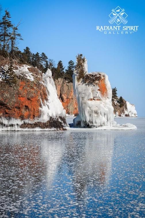 """Winters with Lake Superior are rich with beauty and suprises,"" by Dawn LaPointe."