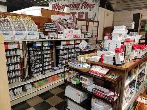 Joy and Company has just received a new shipment of art supplies.