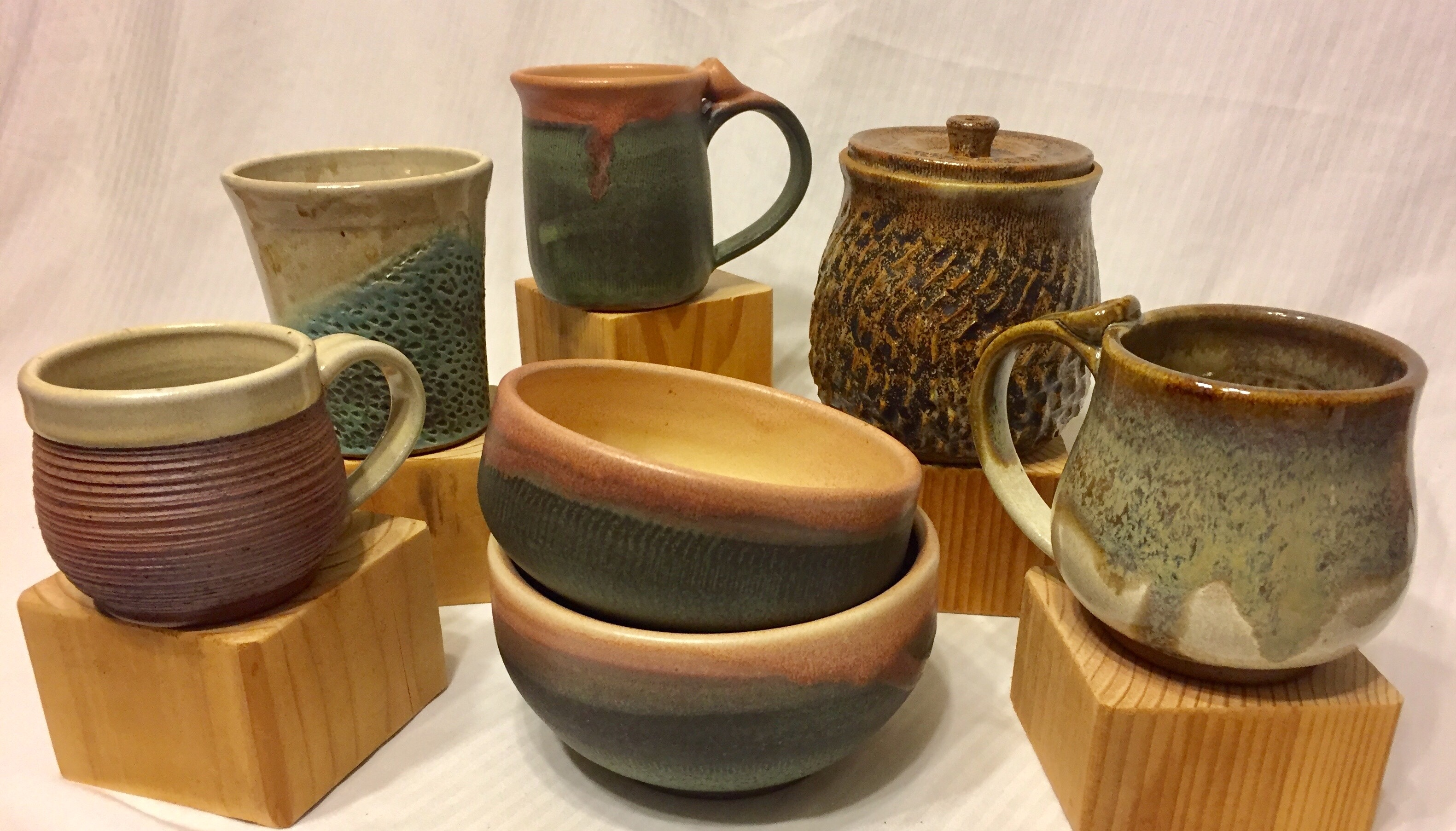Potter Kari Carter will be one of the artists at Wednesday's Artist Spotlight at Voyageur Brewing.