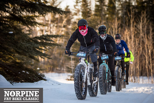 The 3rd annual Fat Bike Classic will be held on Saturday.