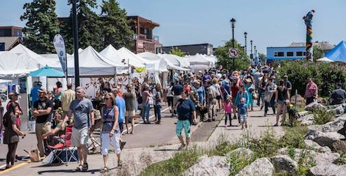 Applications are now open for the 2019 Grand Marais Arts Festival.
