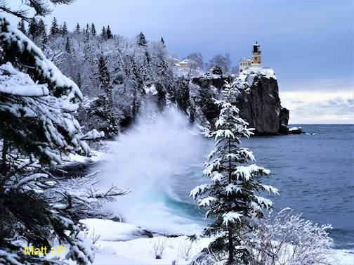 Split Rock Lighthouse by Matthew Pastick.