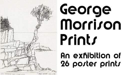 The North Shore Winery is exhibiting work by George Morrison.