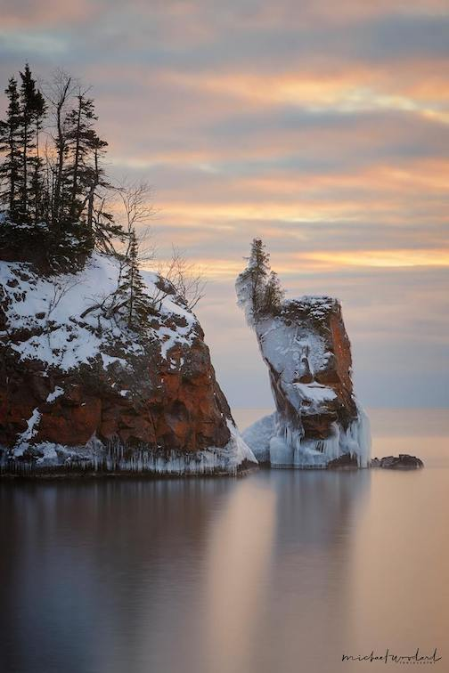 One of my favorite views--Tettegouche State Park by Michael Woodward.