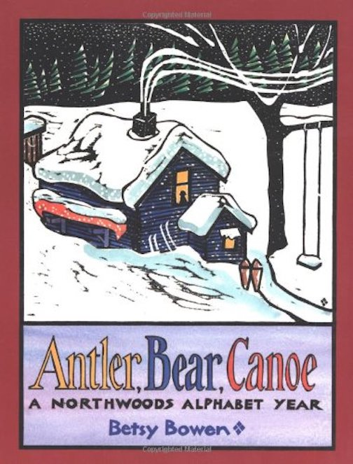 "Betsy Bowen's children's book, ""Antler Bear Canoe"" is part of the Karlan Collection at the University of Minnesota, one of the largest collection of children's literature in the world."