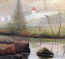 The North Shore Artists League opens an exhibit at the Johnson Heritage Post on Friday, April 12, with a reception from 5-7p.m.