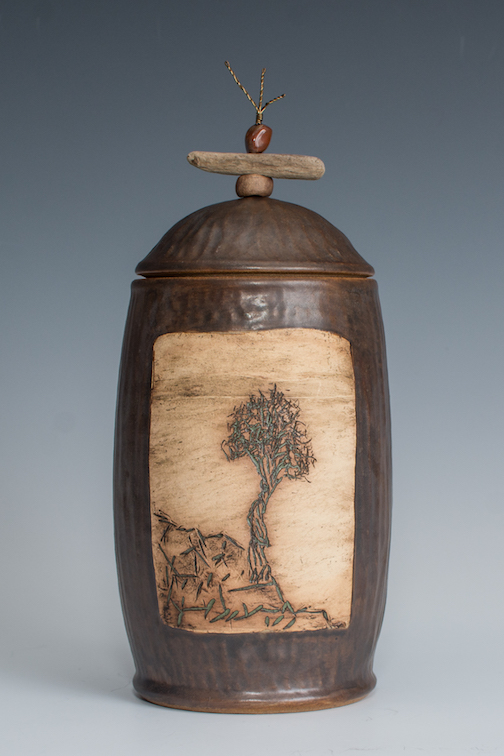 Spirit Tree Jar by Natalie Sobanja.
