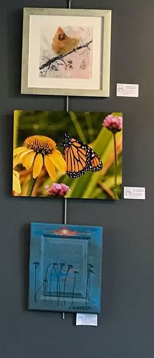 The Vaoyageur Art Club is exhibiting work at a Spring Exhibit at the Cedar Coffee Company this month.