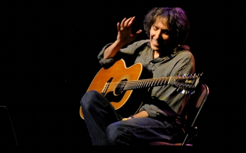 Michael Gulezian will be in concert at the ACA on Saturday night. Catch him talking about his music and playing a few tunes on WTIP's The Roadhouse around 6 p.m. on Friday night.