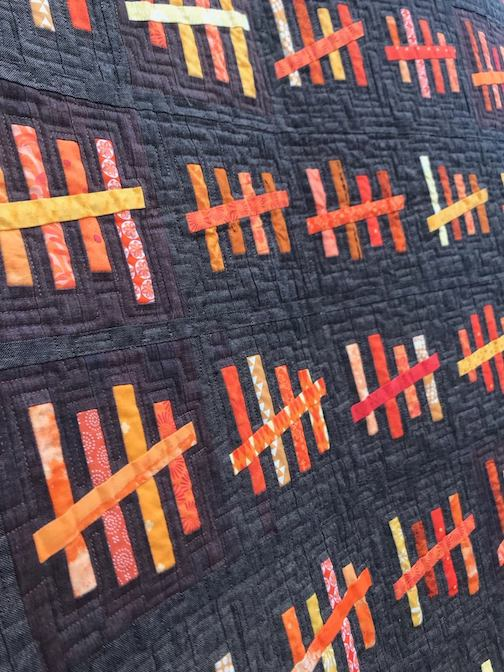 Quilter Scott Lunt is exhibiting his work at the Kruk Gallery at the University of Wisconsin Superior.
