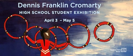 Students at Franklin Cromarty School are exhibiting work at the Thunder Bay Art Gallery this month.