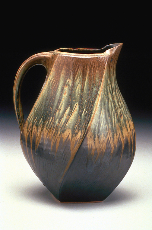 Pitcher by Ellen Shankin. Shankin will give a presentation at Cook County Higher Education at 7 p.m. on Friday.