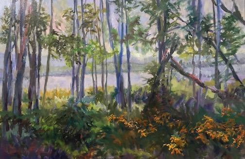"""Morning Mist"" by Greg Lecker."