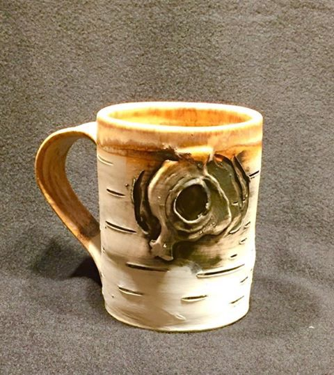 Mug by Lenore Lampi.