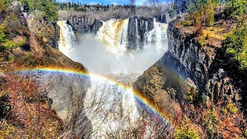 Grand Portage Falls by Michael Reid.