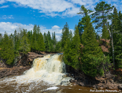 Gooseberry, Upper Falls by Paul Sundberg.
