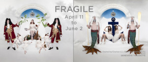 """Fragile"" is currently on exhibit at the Thunder Bay Art Gallery."
