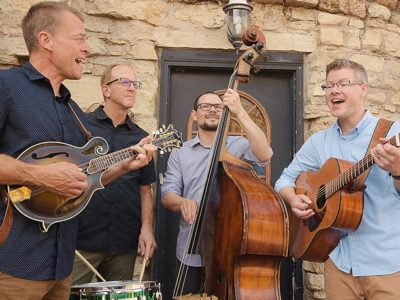The Barley Jacks will be in concert at the Schroeder Town Hall at 7:30 p.m. on Saturday.