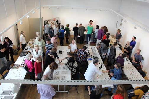 Jewelry artists participating in the Grand Marais Art Colony's Findings Jewelry Symposium will hold a Trunk Show at the Art Colonyfrom 5-7 p.m. Saturday. Open to all. (File photo)