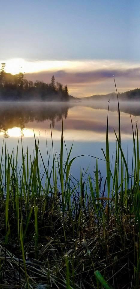 Katie Mumm took this photo at East Bearskin lake at sunrise.