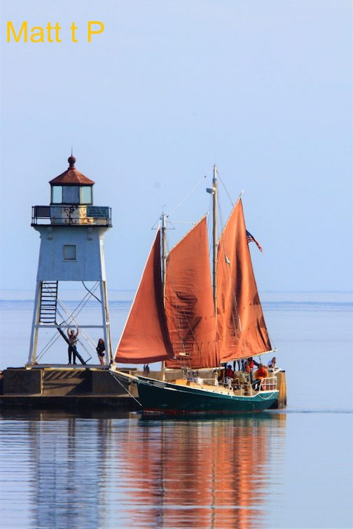 Grand Marais in the summer by Matthew Pastick.