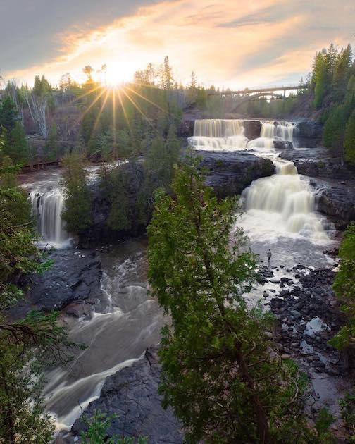 Waterfall wonderland by Samantha Lindberg.
