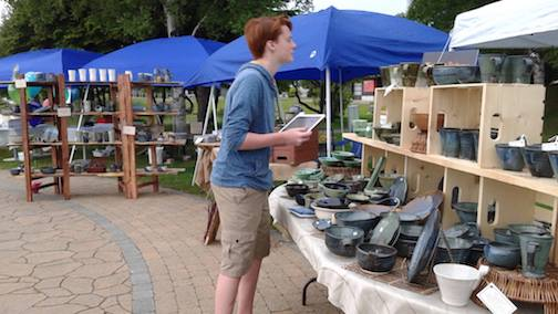 The Thunder Bay Potters Guild will hold a Pottery Fair at Mariners Hall on the waterfront on Saturday.