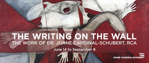 The Thunder Bay Art Gallery has opened a new exhibit by Joan Cardinal-Schubert.