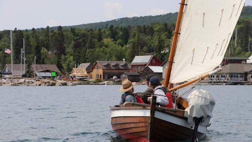 The Wooden Boat Show and Summer Solstice Festival is at North House Folk School this weekend.