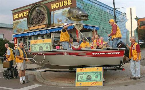 The Fisherman's Picnic Parade is at 1 p.m. on Sunday. It's the best parade of the year. Check it out in downtown  Grand Marais on Sunday.