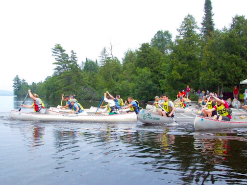 The Gunflint Trail Canoe Races will be held at Gunflint Lodge from 4:30-7 p.m. on Wednesday.