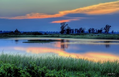 Good night Crex Meadows (Wisconsin) by John Heino.