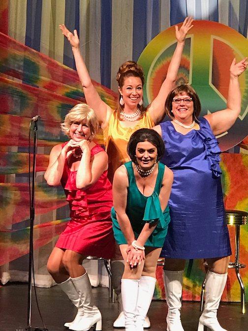 The Marvelous Wunderettes features KarenBlackburn, Tina Hegg Raway, Karina Roth and Diane Stoddard.