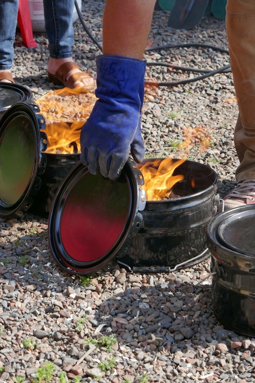The Fisherman's Picnic Raku Firing will be held Thursday and Friday nights at the Maker's Market space on North Broadway.