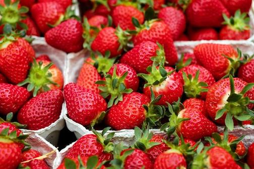 The Local Food Market will feature locally grown strawberries at this week's market.