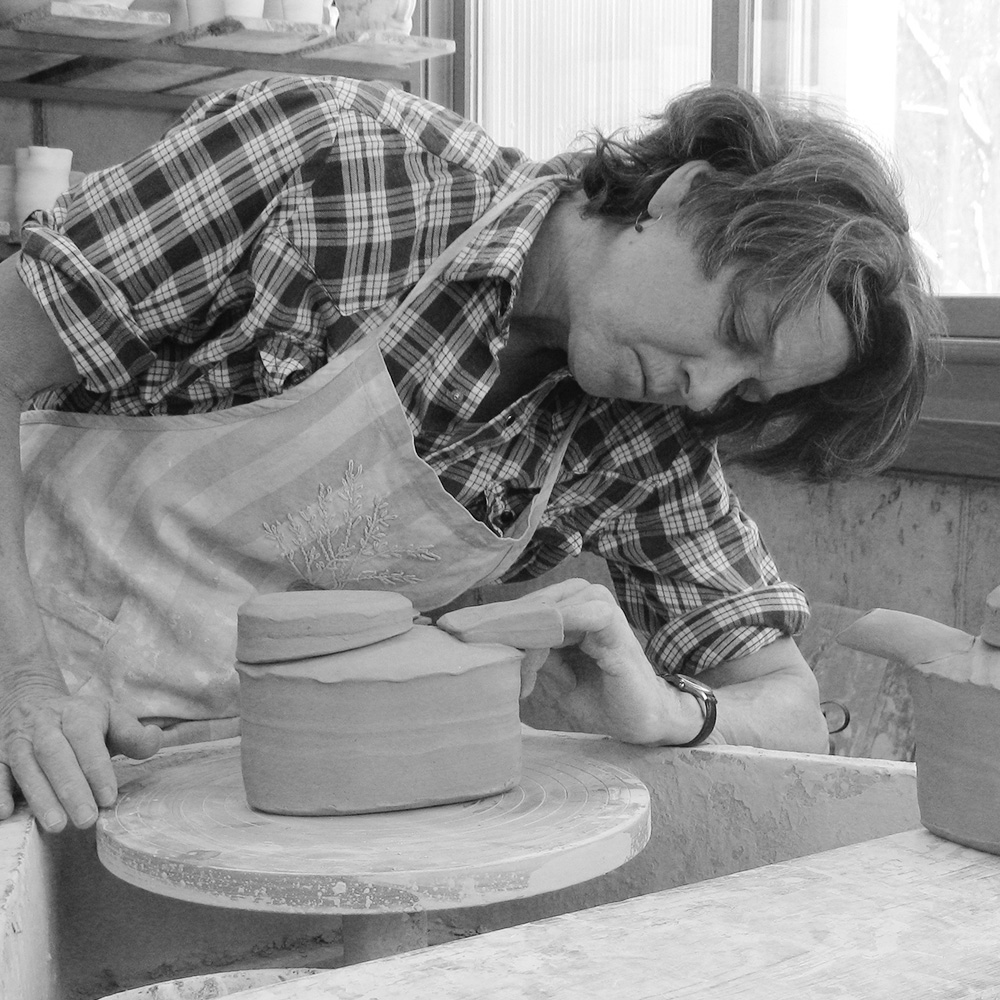 Potter Linda Christianson will give a presentation and demonstration in the Ceramics Studio at the Grand Marais Art Colonyat 7 p.m. Wednesday.