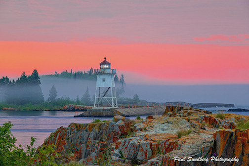 Grand Marais Light by Paul Sundberg.