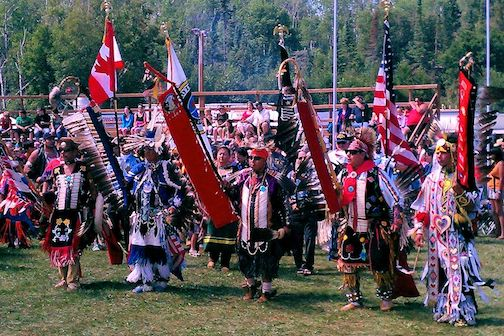Grand Entry at the Celebration Pow Wow is at 1 and 7 p.m. Saturday and at 1 p.m. Sunday.
