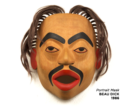 The Thunder Bay Art Gallery is exhibiting works from its collection of Northwest Coast Masks.