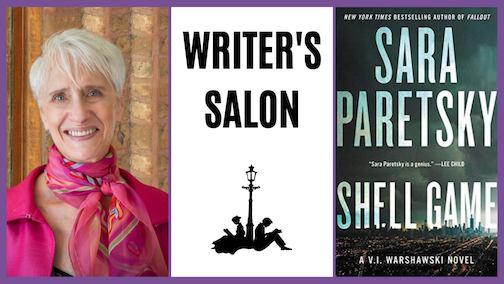 Sara Paretsky will be at Drury Lane Books for a Writer's Salon at 7 p.m. Saturday.
