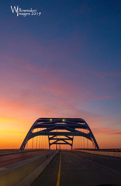 Bong bridge this morning by Jamie Rabold.
