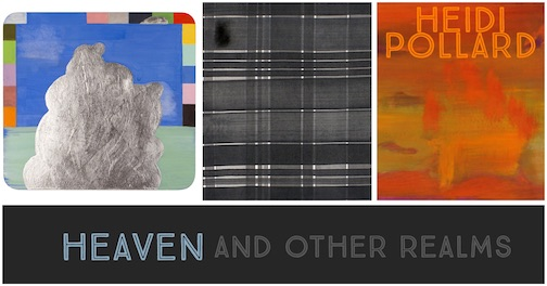 "The exhibit, ""Heaven and Other Realms"" by Heidi Pollard opens with a reception at the Joseph Nease Gallery in Duluth on Friday from 5-8 p.m."