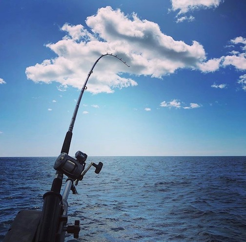 Fishing Lake Superior by Lin Salisbury.