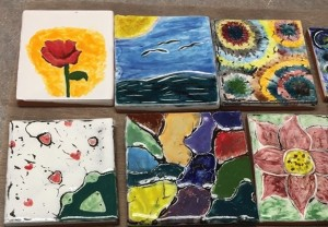 The last Paint-A-Tile workshop of the season will be held from 1-2:30 p.m. on Friday at the Grand Marais Art Colony. Call 387-2737 for info and to register.