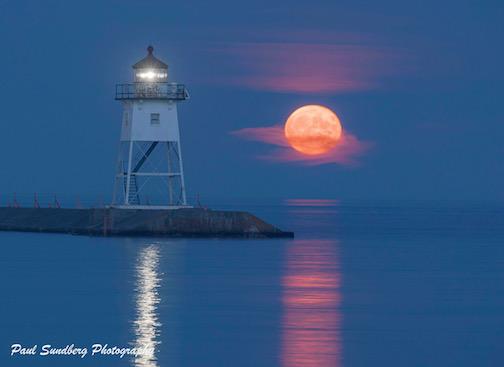 August Sturgeon Moon by Paul Sundberg.